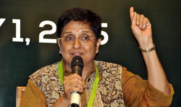 Kiran Bedi Most Braver and Helpful Women's In India International Women's Day