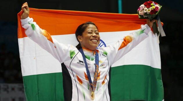 Marykom Most Braver and Helpful Women's In India International Women's Day