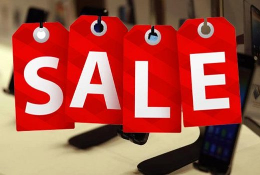 E-Commerce sites Sale, Maha Sale on Smartphone